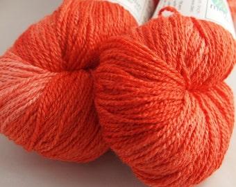 TANGERINE SuperSilky Sock Yarn