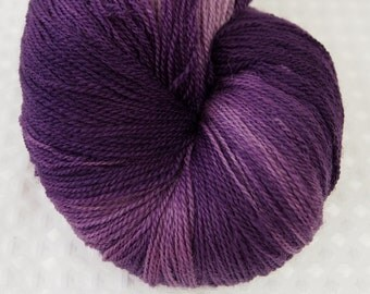 GRAPE SODA Ethereal Lace Yarn