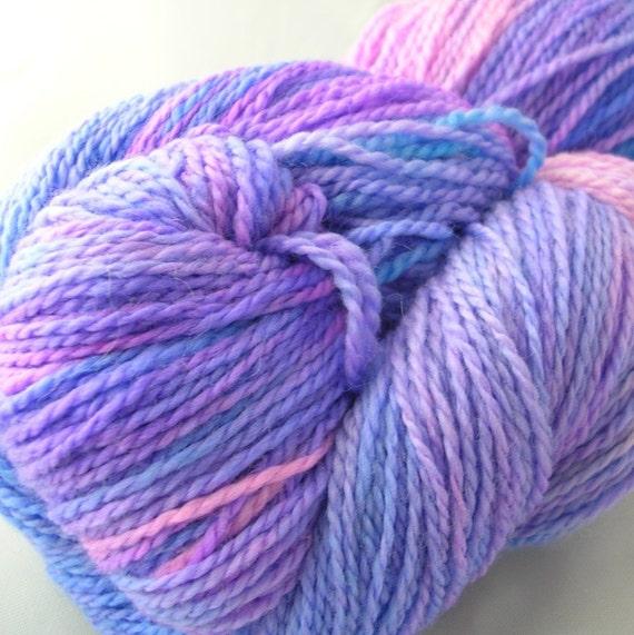 ORCHID MIST Posh Sock Merino Cashmere Nylon Yarn