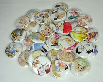 20 Cute Children Buttons