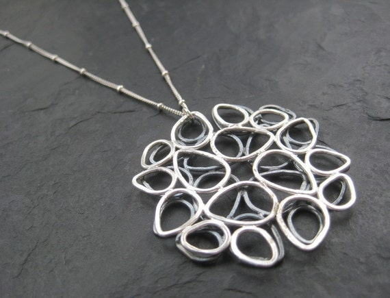 Double Lotus Necklace
