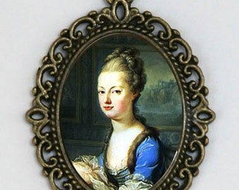 Marie Antoinette Necklace French Queen History revolution emo punk