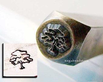 Tree of Life - 6mm - Metal Stamping Punch Tool