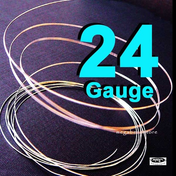 24 Guage 925 Sterling Silver Wire Dead Soft (DS) - 10 ft