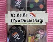 pirate cupcake kit