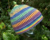Colors of the Rainbow Hat