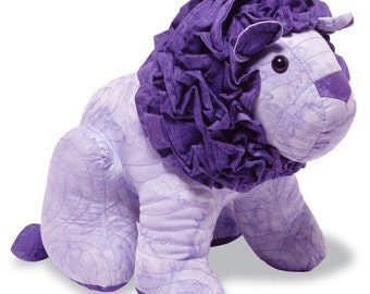 Lion Sewing Pattern, PDF format