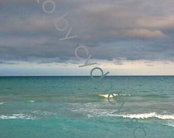 Beach photo, ocean photo, Fine Art Photography,Color Prints, travel photography Gallery Prints, ocean scene, beach, Palm Beach,  Florida