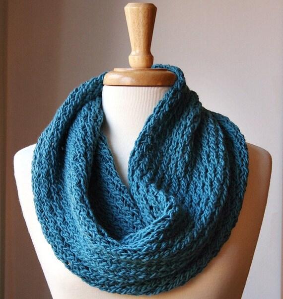 Luxurious Pure Wool Knit Cowl - The Bridget II Cowl - 12 CUSTOM COLORS