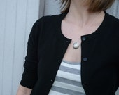 silver tortoise shell necklace