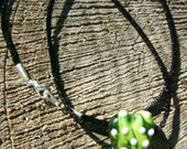 Lampwork Heart Necklace