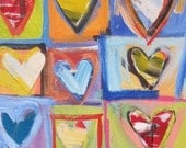 Love Squared..............Original painting by Michelle Daisley Moffitt