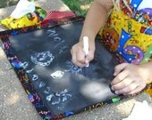 How to Make a Travel Chalkboard Roll-Up Tazetta eBook Pattern Instructions Boutique