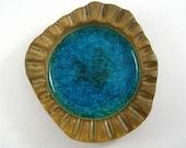 Blue Crackle Glass - Robert Maxwell Hand-Made Pottery