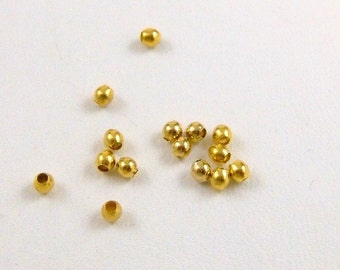 2mm Gold plated rounds
