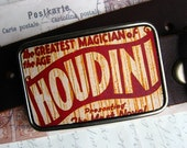 Vintage Houdini Belt Buckle