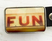 Fun Belt Buckle- Collaboration with Bomobob
