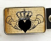 Belt Buckle - Claddagh - In Friendship