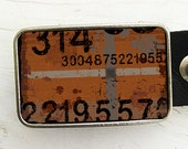 Random Numbers Belt Buckle, Father's Day, Gifts Under 30