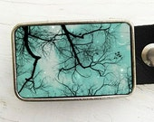 Tree Branches Belt Buckle (Harvest Moon) - Smile - Collaboration with Raceytay