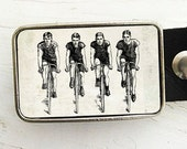 Cyclists Belt Buckle, Bicycle Belt Buckle