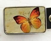 Dreamy Butterfly Belt Buckle