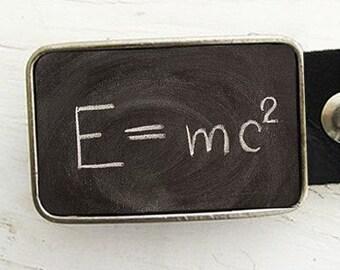 Belt Buckle - Theory of Relativity Formula, Back to School