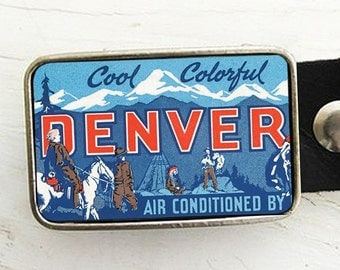 Retro Denver Advertisement