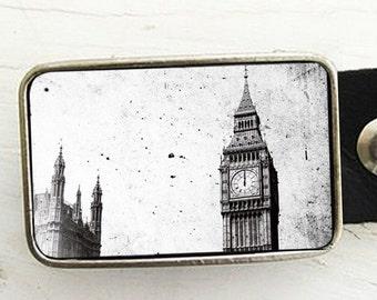 Vintage Big Ben, London Belt Buckle