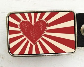 Have a Heart Belt Buckle