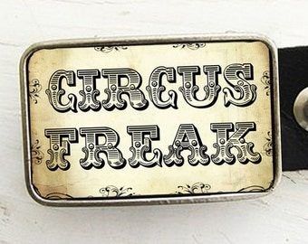 Circus Freak Belt Buckle