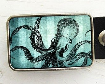 Octopus Belt Buckle- Sea Legs