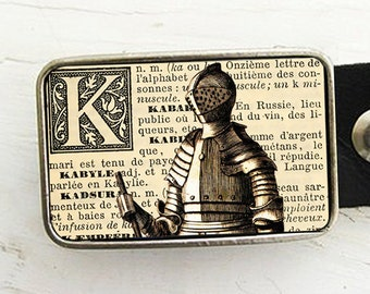 Medieval Knight Belt Buckle