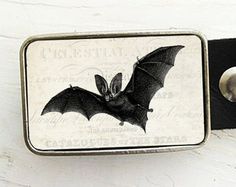 Bat Belt Buckle - Halloween