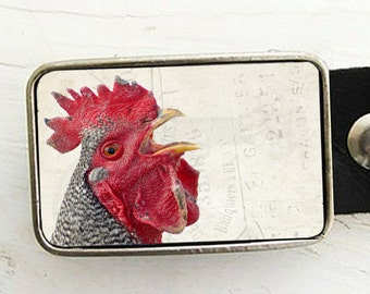 Cocky Rooster Belt Buckle
