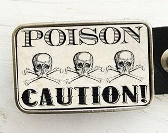 Poison Belt Buckle Halloween