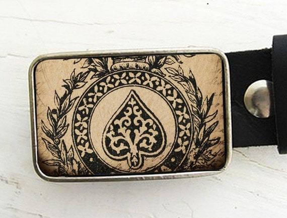 Belt Buckle Ace of Spades Ace of Spades Belt Buckle Father's Day Gift