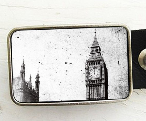 Vintage Big Ben, London Belt Buckle