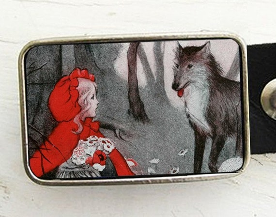 Little Red Riding Hood Belt Buckle