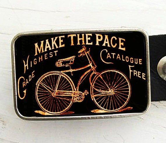 Antique Bicycle Belt Buckle