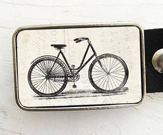 Vintage Bicycle Belt Buckle