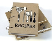 Blank Recipe Book (4in x 6in)