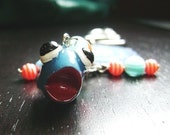 CLEARANCE !!! Fiona the Flounder Key Chain/Purse Charm--all net proceeds go to Audubon Institute for Gulf Oil Spill
