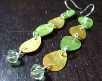 CLEARANCE !!! Lemon Lime Drop Earrings