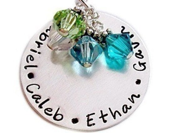 sted necklace family keepsake jewelry by