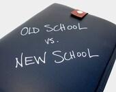 SALE - Chalkboard iPad Case - Old School vs New School - IN STOCK