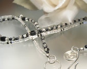 RESERVED FOR JN- CRYSTAL GLITZ -- Tourmalated Quartz Crystal Necklace