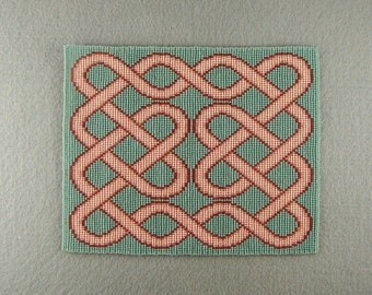 Celtic Knot 10 - Peachy Ribbons