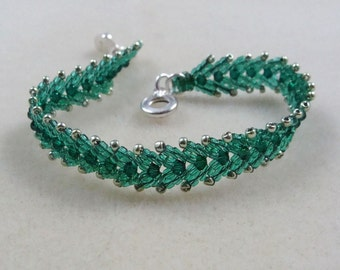 Feather bracelet for May