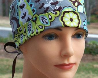 Scrub Hats // Scrub Caps // Scrub Hats for Women // The Hat Cottage // The Mini // Ribbon Ties // Harmony